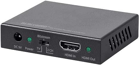 Monoprice Blackbird 4K HDMI Audio Extractor, 18Gbps, HDCP 2 (Renewed)