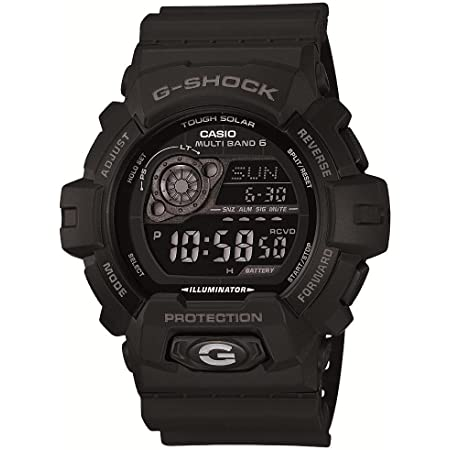 [カシオ] 腕時計 ジーショック 電波ソーラー GW-8900A-1JF ブラック