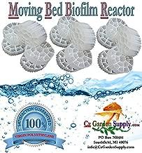 1 Cubic Foot K3 Filter Media Moving Bed Biofilm Reactor (MBBR) for Aquaponics • Aquaculture • Hydroponics • Ponds • Aquariums by Cz Garden Supply (1 Cubic Foot)