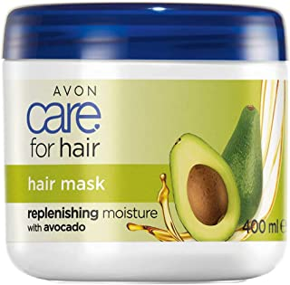 avon hair mask (white)