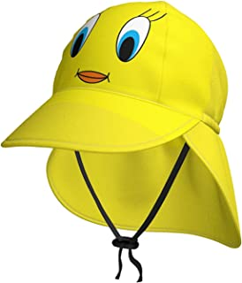 Lsjuee T-Weety - Cappello da sole per bambini, da spiaggia, per bambini