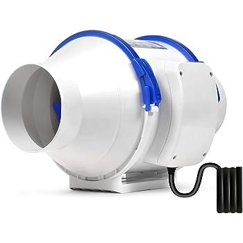 Hon&Guan Ventilador Extractor de Conducto en Línea para Baño ...