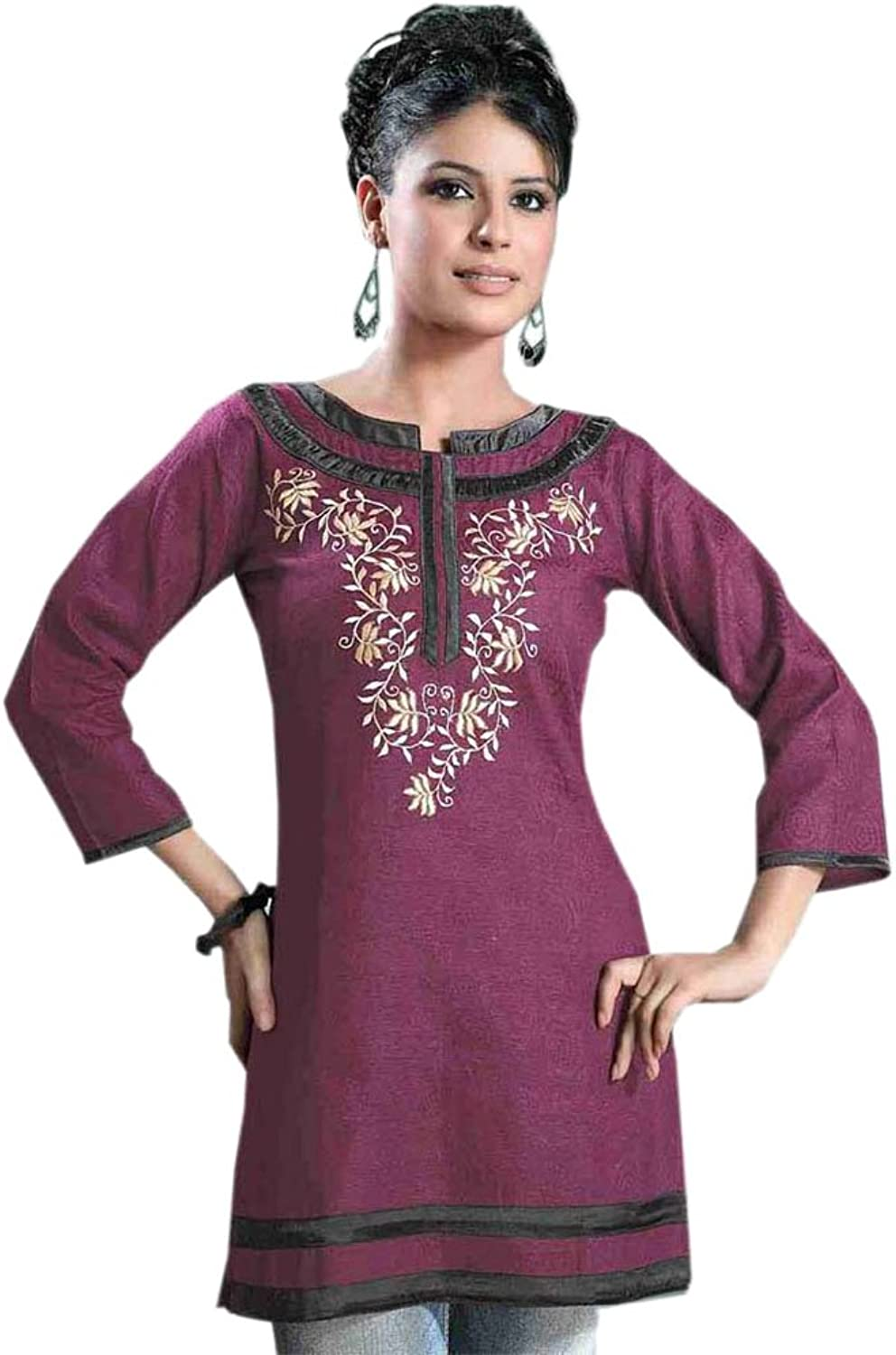 1545 Designs Women's Dark pink Top