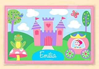 Princess Personalized Placemat for Girls