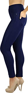 ToBeInStyle Women's Super Skinny Fit Soft Knit Moleton Jeggings