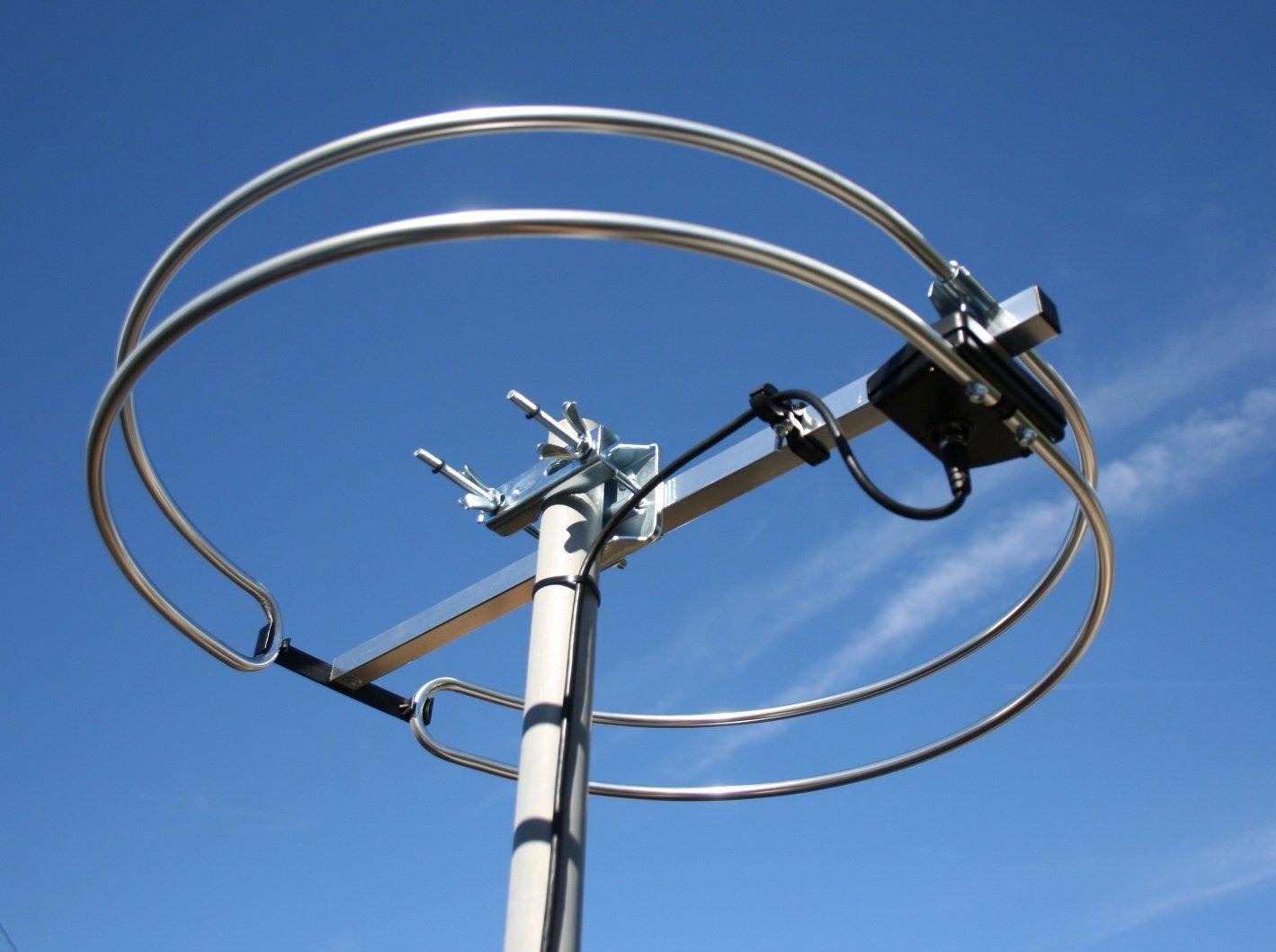 FM Loop Antenna Outdoor Attic mount