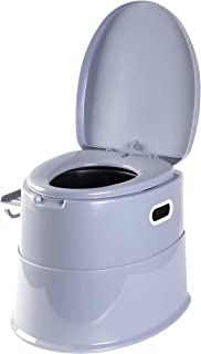 PLAYBERG Folding Portable Travel Toilet for Camping and Hiking with Travel Bag