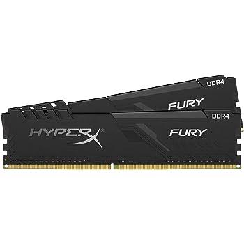 HyperX Fury 32GB 2666MHz DDR4 CL16 DIMM (Kit of 2) Black XMP Desktop Memory HX426C16FB3K2/32