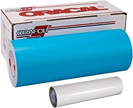 ORAMASK 813 Paint Mask Stencil Vinyl w/Water-Based Adhesive (12 Inch x 50yd+12 Inchx5ft Transfer Paper)