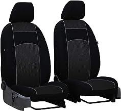 Autositzbezüge Mercedes Vito W639 ab 03 1+1 Vordersitze Schwarz Schonbezug Bezug