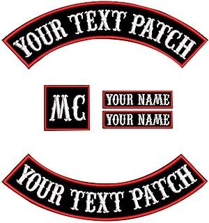 "CUSTOM ROCKER SET Bot  16/"" Motorcycle Patch Set: Top 13/"" LARGE XXL"