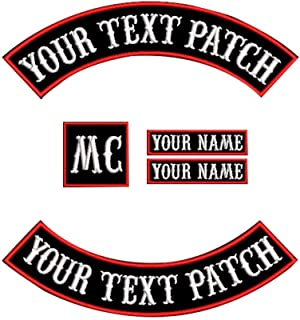 custom biker patches and rockers