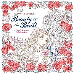 fairy tale coloring book - beauty and the beAST