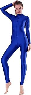 Sponsored Ad - Speerise Adult Spandex Long Sleeve Turtleneck Unitard Bodysuit