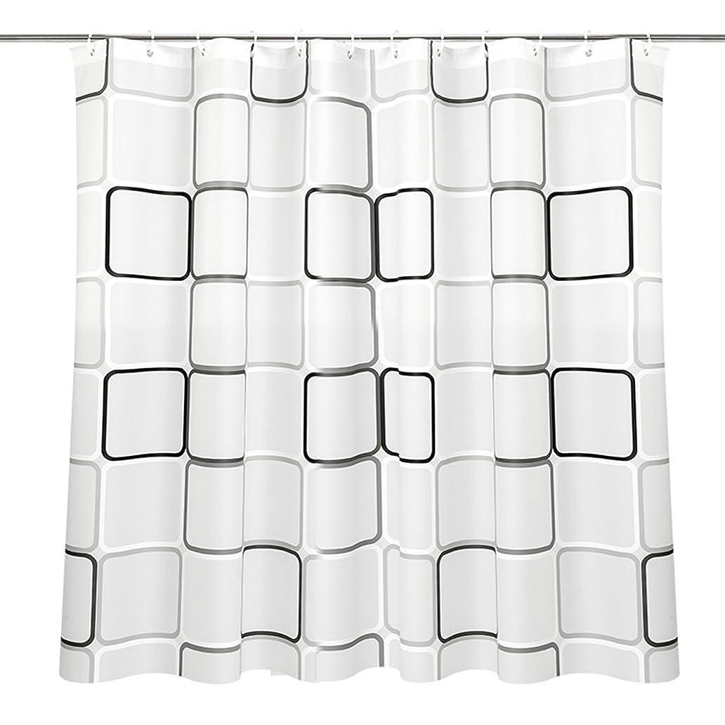 石鹸ヘルメットモスGRJH? シャワーカーテン、厚い防水性黴PEVA材質シャワーカーテン120x180cm、220x200cm プライバシーは良いです 良好な通気性 ( サイズ さいず : 180*180cm )