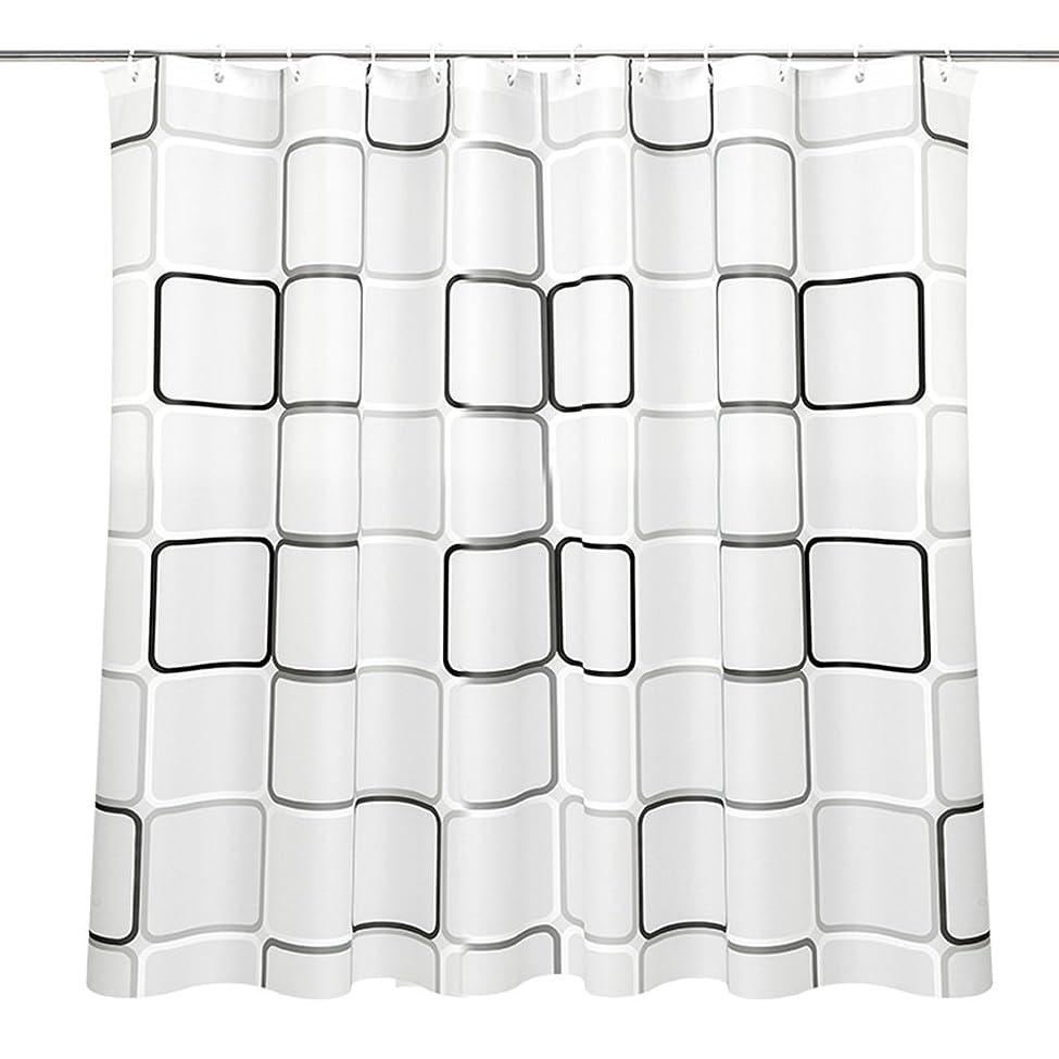 スペース建築腐食するGRJH? シャワーカーテン、厚い防水性黴PEVA材質シャワーカーテン120x180cm、220x200cm プライバシーは良いです 良好な通気性 ( サイズ さいず : 180*240cm )