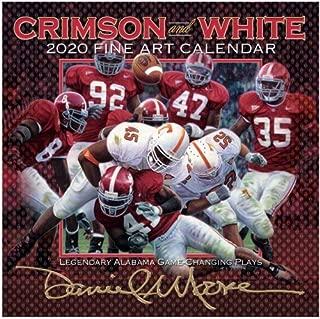 Jems Online Inc. Daniel Moore's 2020 Alabama Football Fine Art Calendar