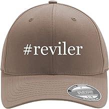 #reviler - Adult Men's Hashtag Flexfit Baseball Hat Cap