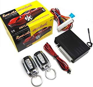 CarBest 8171 3-Channel 1-Way Car Alarm Vehicle Security Keyless Entry System