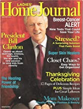 Ladies' Home Journal November 2005 Bill Clinton Opens Up (Single Issue Magazine, Volume CXXII No. 11)