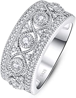 Best 925 silver cz rings Reviews