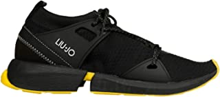 LIU JO Luxury Fashion Womens B69045TX02201038 Black Sneakers   Fall Winter 19