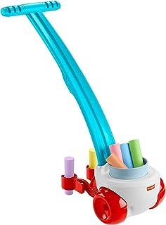 Fisher-Price Chalk 'n Walk, juguete de empuje al aire libre con tiza de color para niños preescolares a partir de 3 años