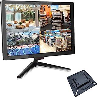 モニター 19インチ CCTVモニター Cocar 16:9 液晶ディスプレイ1600x900 BNCモニターコンポジットおよびコンポーネントBNC/YPbPr/VGA/HDMI/オーディオ入力出力、ホームセキュリティシステム監視カメラ用VES...
