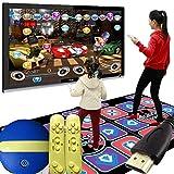 Mr.LQ Tappeto da Ballo Console da Gioco HD Esecuzione di Giochi di Danza in Stile Arcade con Tecnologia Wireless Applicabile Ad Adulti/Bambini