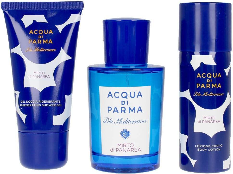 Acqua Di Parma Blu Mediterraneo Mirto Di Panarea Lote 3 Pz 100 ml