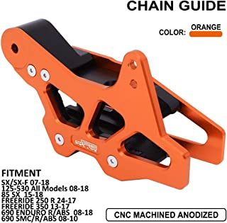 JFG RACING CNC Chain Guard Guide Protector For 125-530 All Models SX SXF SMC FREERIDE ENDURO