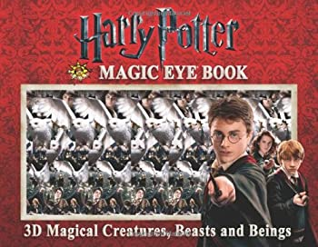 Harry Potter Magic Eye Book  3D Magical Creatures Beasts and Beings
