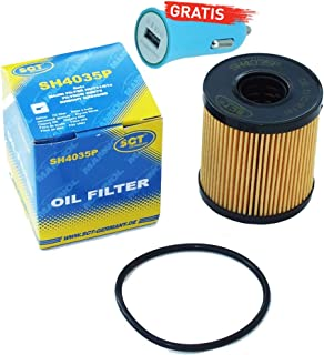 Original SCT Germany Ölfilter SH4035P + Autoladegerät geschenkt