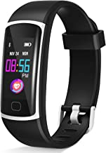 HuaWise Fitness Tracker,Activity Tracker Watch with Sleep Monitor, Waterproof Smart Fitness Band with Step Counter, Calori...