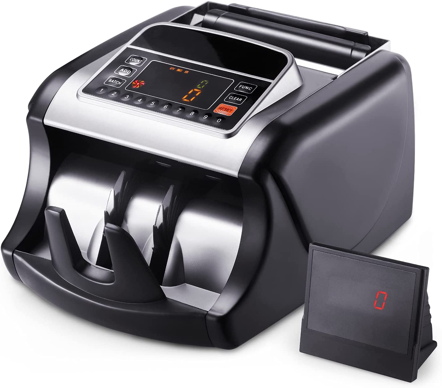 Max 56% OFF Bill Counter with UV MG Detection Surprise price IR Counting Machine