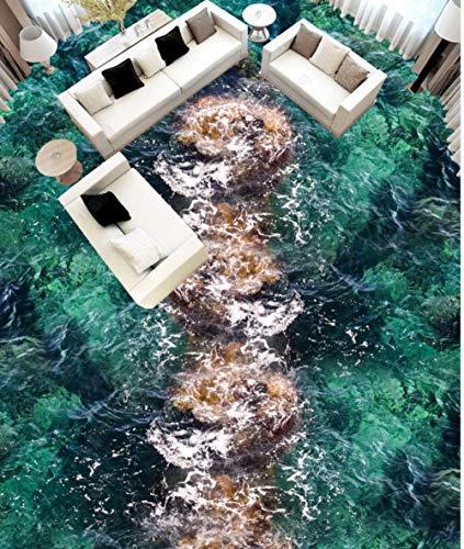 Wohnkultur Fr Kinder Meerwasserspray Seewelle 3D Boden-430 * 300Cmhome Decoration Moistureproof Waterproof Sound Absorptioncustom