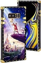 DISNEY COLLECTION Cell Phone Case Compatible Samsung Galaxy Note 8 (2017) (6.3inch) Disneyland Paris El Rey Leon