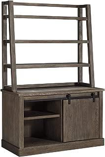 Ashley Furniture Signature Design - Luxenford Home Office Desk Hutch - Desk Hutch Only - Grayish Brown Finish