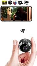 Kkeep Spy Camera 1080P Video Recorder Wireless IP Mini Cameras hidden camera Ultra small Camera WiFi Remote View home security cam Mini Security Monitoring 150°Angle Nanny Cam Night Vision Motion Dete