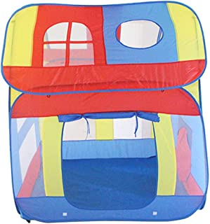 Perfeclan Rainbow Play Tent – Kids Play and Exploration Discovery Station for Early Learning and Muscle Development – Indoor/Outdoor Use