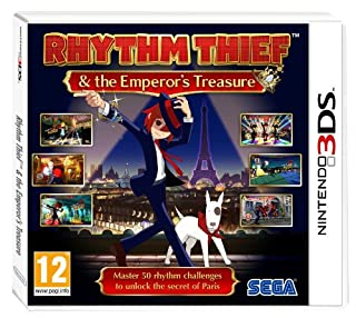 Rhythm Thief and the Emperor's Treasure (Nintendo 3DS) (B007EMRIIE) | Amazon price tracker / tracking, Amazon price history charts, Amazon price watches, Amazon price drop alerts