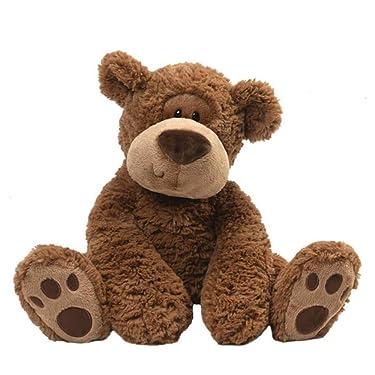 "GUND Grahm Teddy Bear Plush Stuffed Animal, Brown, 18"""