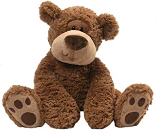 GUND Grahm Teddy Bear Plush Stuffed Animal, Brown, 18