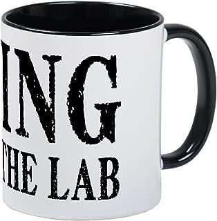 CafePress King Of The Lab Mug Unique Coffee Mug, Coffee Cup