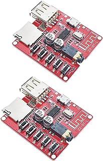 HiLetgo 2pcs MP3 Bluetooth Decoder Board Lossless Car Speaker Audio Amplifier Board Modified Bluetooth 4.1 Circuit Stereo ...