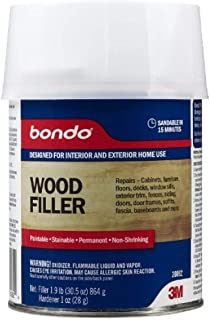 Best bondo wood filler stainable Reviews