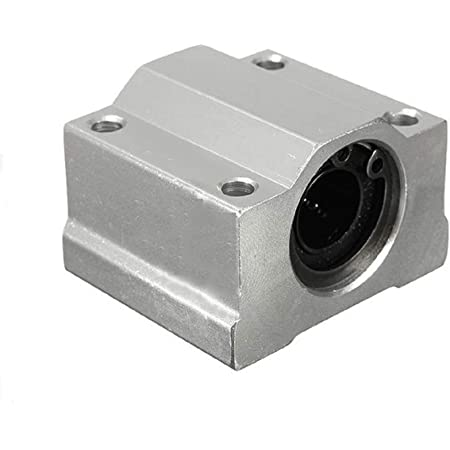 Robocraze SC8UU Linear Bearing Motion | 8mm SC8UU Linear Bearing Shaft Bracket for 3D Printer CNC | 3d printer science project