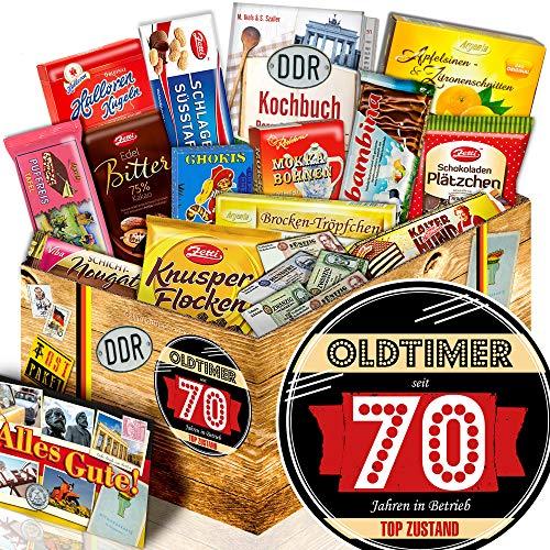 Oldtimer 70 / DDR Schoko-Geschenk / Geburtstagsgeschenk Oma