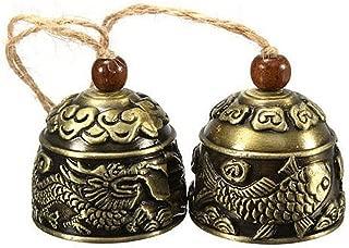 brass garden bells