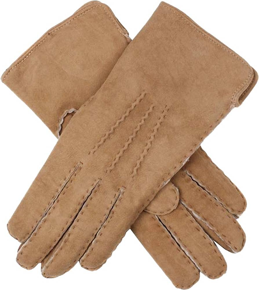 Dents Womens Hannah Lambskin Gloves - Camel Beige